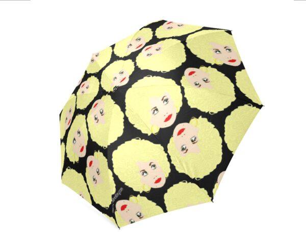 dolly umbrella black
