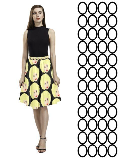 pleated skirt dolly