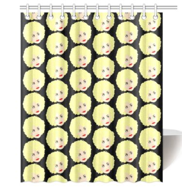 shower curtain dolly