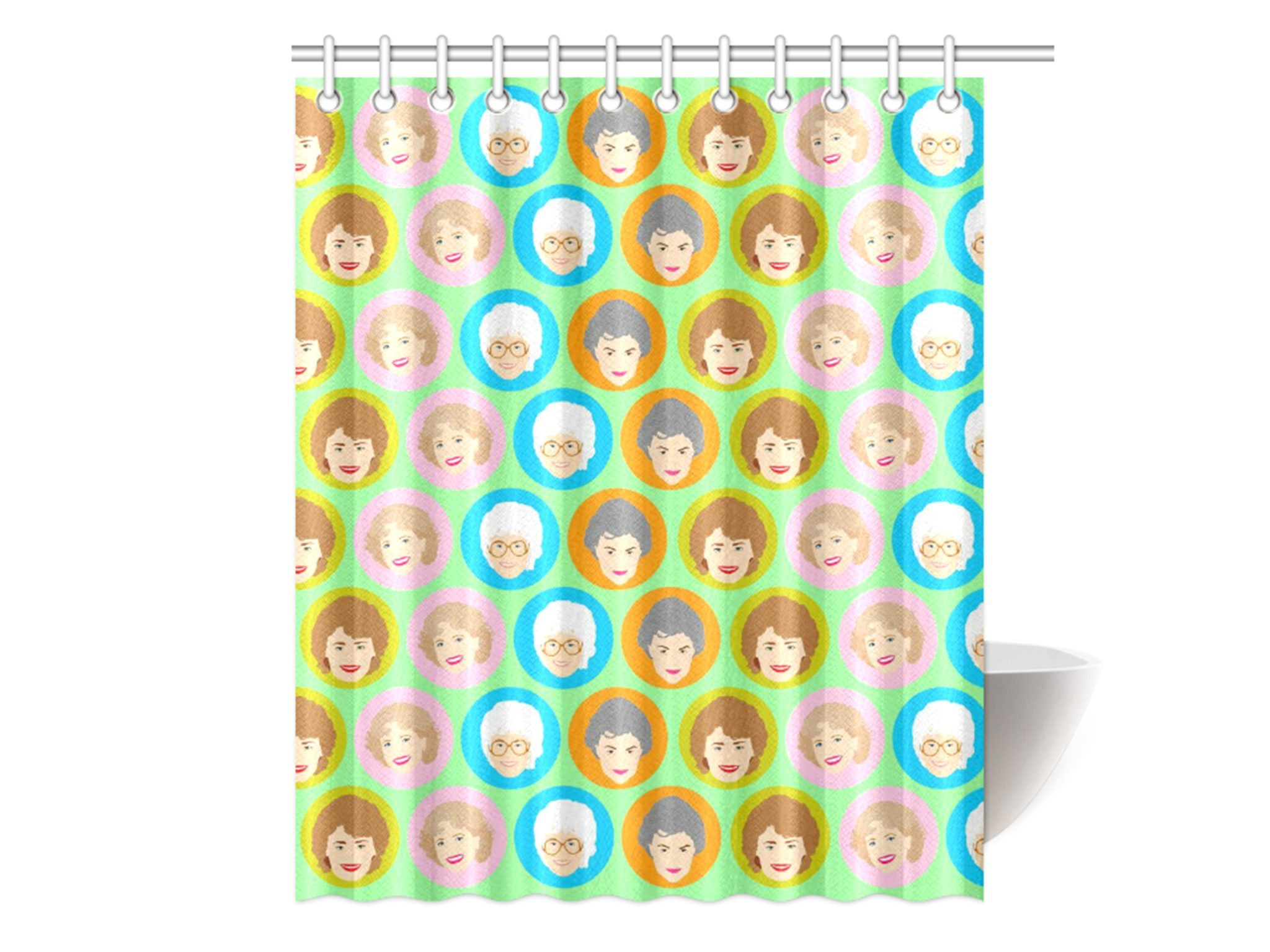 These Girls Are GOLDEN Shower Curtain
