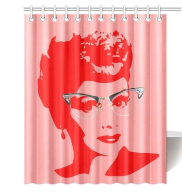 shower curtain lucy