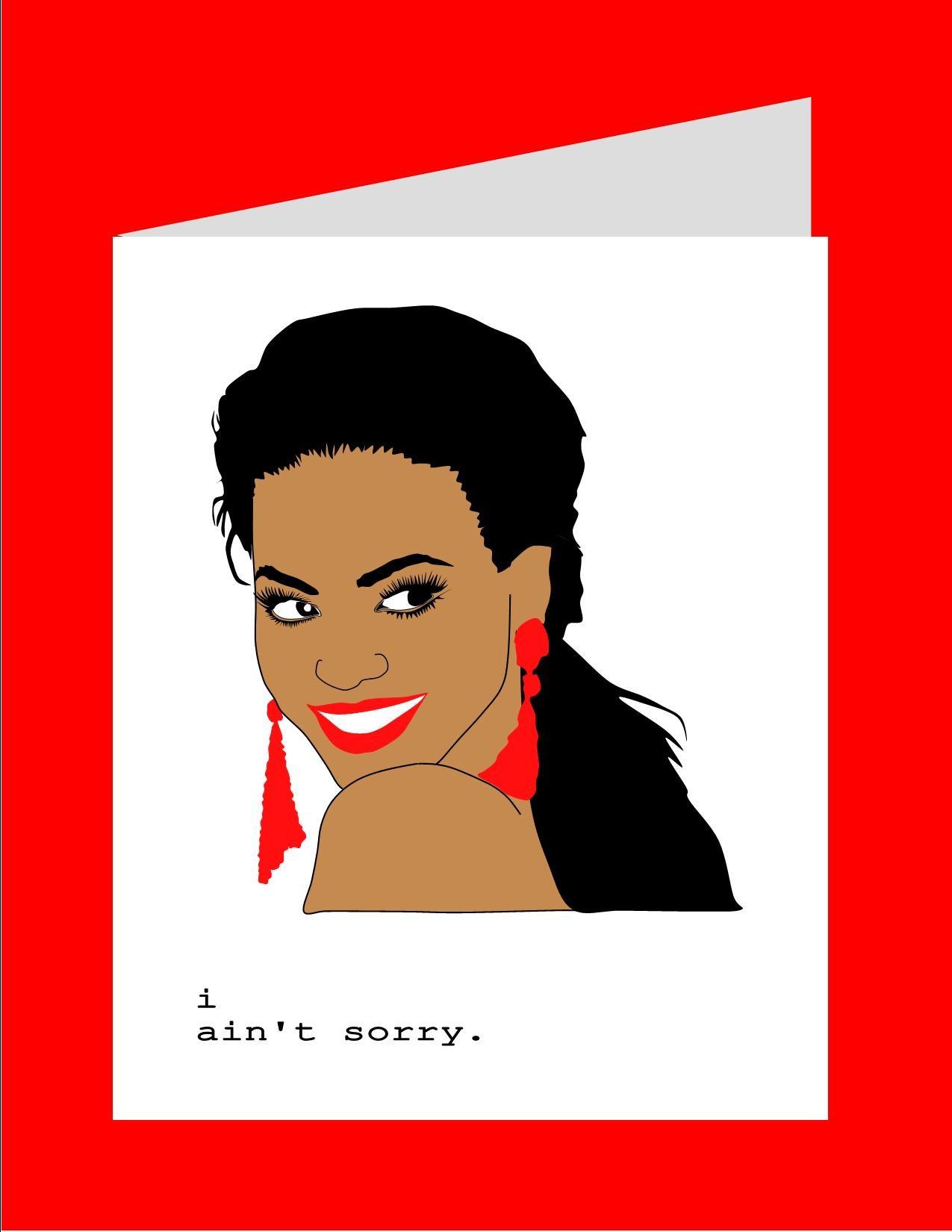 Perfect Pop Star Greeting Cards Original Illustration Kayci