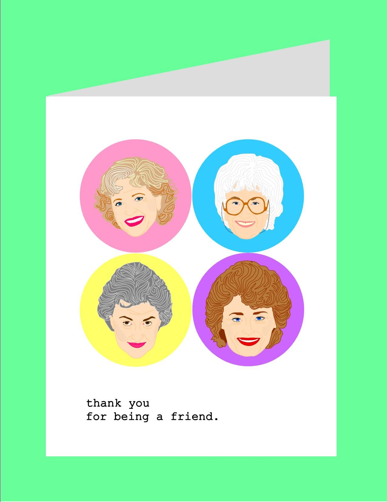 Greeting cards by kayci garline wheatley golden girls greeting cards original illustration m4hsunfo