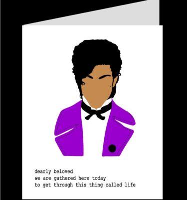 card mock up prince