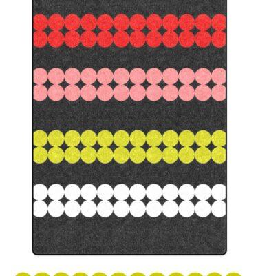 fleece blanket mod dots
