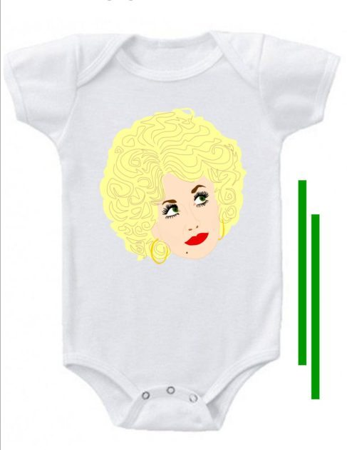 onesie blank dolly
