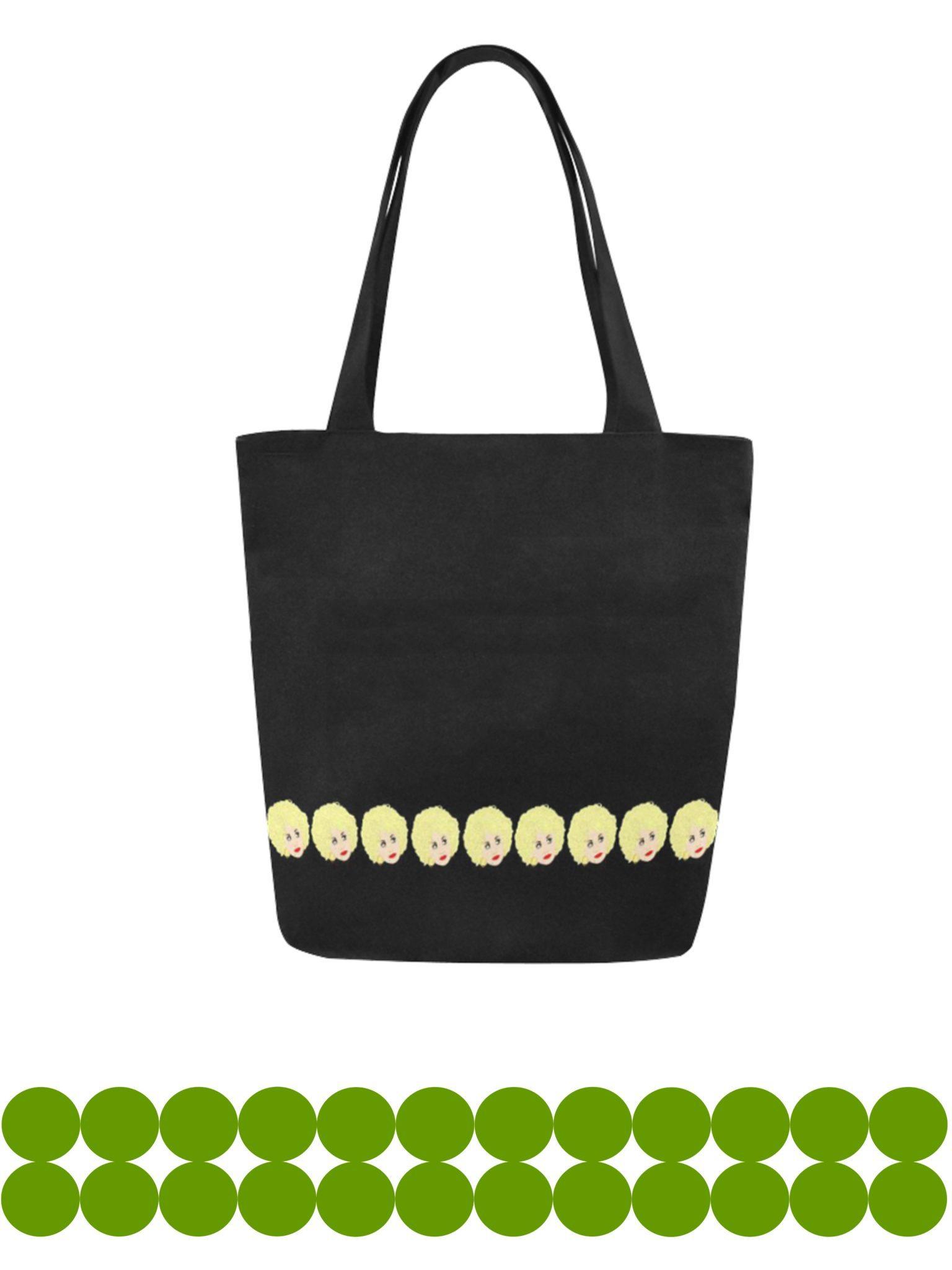dolly parton canvas tote bag original illustration kayci garline wheatley. Black Bedroom Furniture Sets. Home Design Ideas