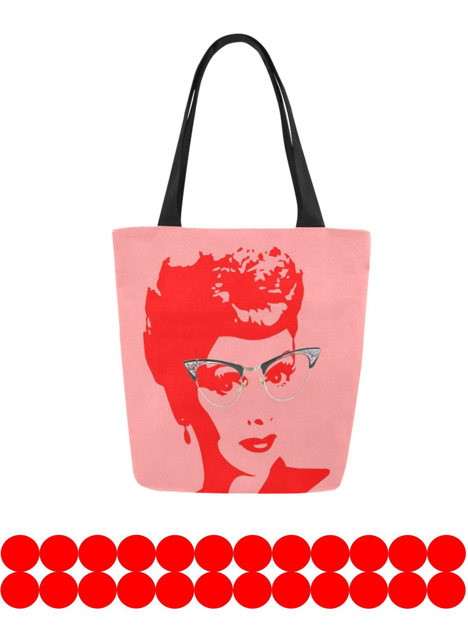 lucy canvas tote bag original design kayci garline wheatley. Black Bedroom Furniture Sets. Home Design Ideas