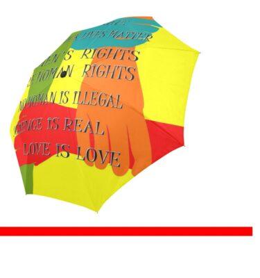 umbrella love trumps hate