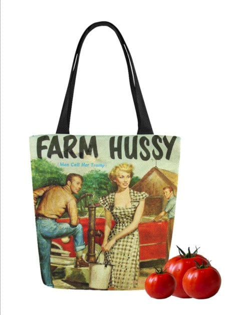 farmers market totes hussy