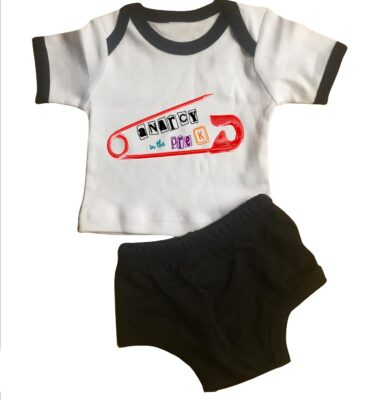 lap tee and diaper cover sets