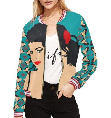 women's bomber jackets